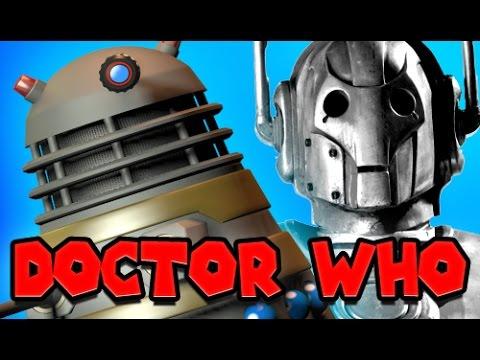 Doctor Who Drama Show! - Gmod Dalek & Cyberman Mod! (garry's Mod) video
