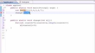 Java Programming Tutorial - 32 - Arrays in Methods