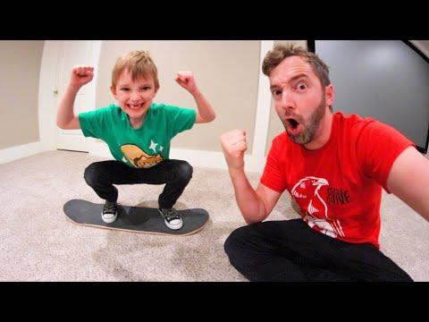 Father VS Son Game Of Carpetboard S.K.A.T.E.