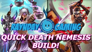 DARE ME! Full Movement Speed Nemesis Build and Gameplay! SO GOOD! (SMITE) - Season 3