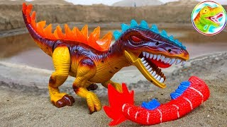 Funny dinosaurs find the tail for you - B954P ToyTV children's toy