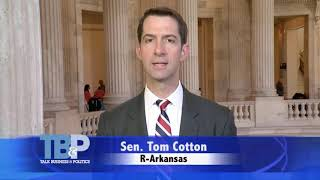 October 8, 2017: Sen. Cotton joins Roby Brock on Talk Business & Politics