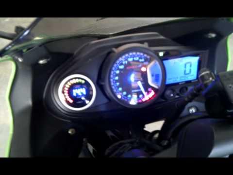 2009 Dynoed Kawasaki Ninja 250r Youtube