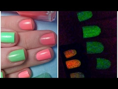 Glow In The Dark Nail Polish!