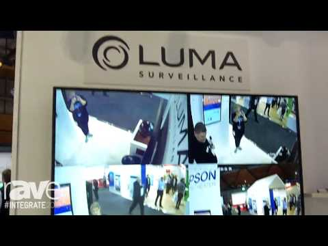Integrate 2016: Snap AV Showcases the Luma Surveillance Security Solution on the Westan Stand