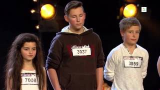 Angelina Jordan - Audition and backstage