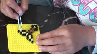 Minecraft Perler Bead Designs ep 1: How to make butter sword (Minecraft) using Perler Beads