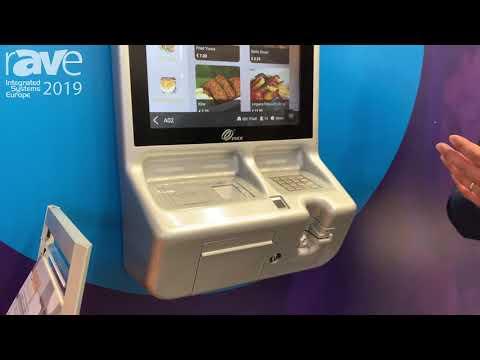 ISE 2019: Pax Italia Showcases SK800 Ordering Kiosk for Retail Apploications