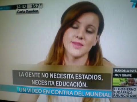 Crisis en Brasil: Chica Brasileña habla sobre porque el Mundial Funde a Brasil.