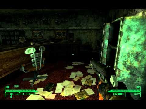 fallout new vegas gameplay part 22 repconn main floors full