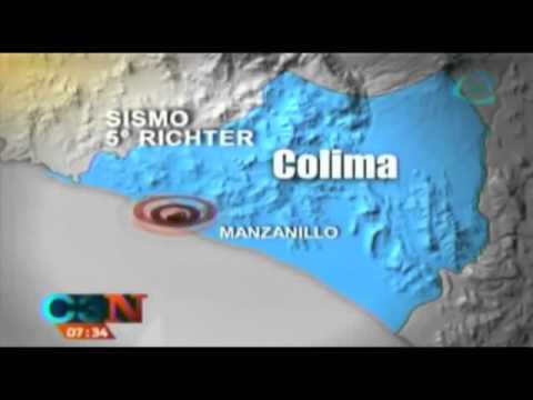 Sismo de 5 grados sacude Colima hoy 27 de noviembre