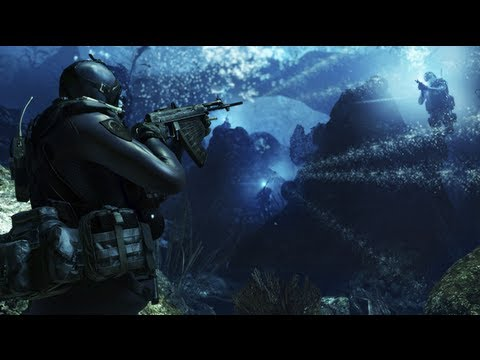 Call of Duty: Ghosts - Into The Deep - Gameplay Demo Walkthrough E3 2013 [HD] (Xbox One/PS4) E3M13