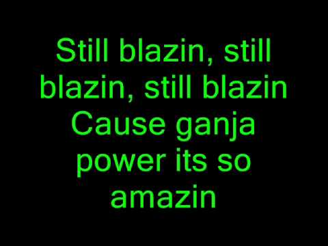 Still Blazin - Wiz Khalifa + Lyrics video