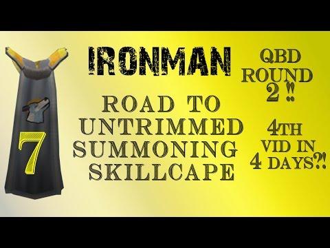 RuneScape 3 IRONMAN – Ep. 7 Untrimmed Summoning Skillcape