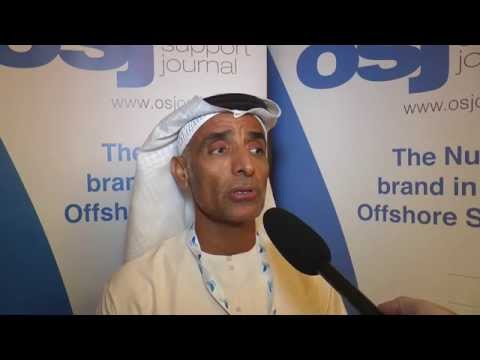 Darwish AlQubaisi ADNOCs Shared and Technical Services Director talks to OSJ in Dubai