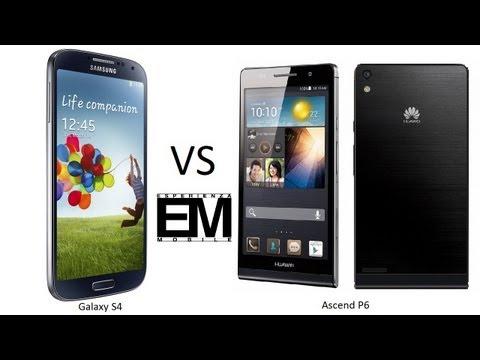 Huawei Ascend P6 vs Samsung Galaxy S4 ita da EsperienzaMobile