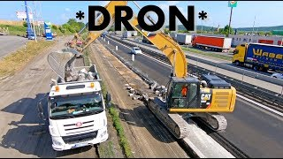 *Holbra DRON* Tatra Phoenix 8x6, Cat 330F and Volvo EC 300E