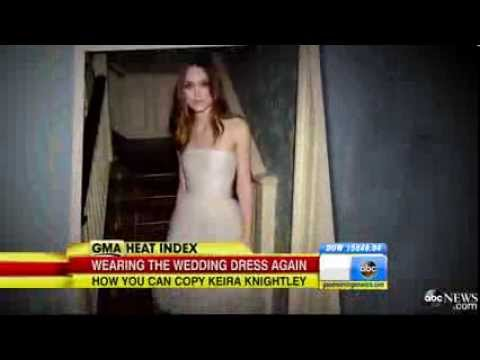 BBC News Keira Knightley Repurposes Her Wedding Dress