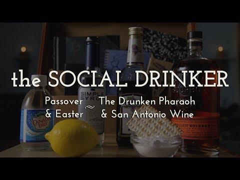 Passover & Easter Cocktails! - The Social Drinker - How to make a Drunken Pharaoh