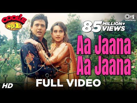 Aa Jaana Aa Jaana - Coolie No 1 | Govinda & Karisma Kapoor |...