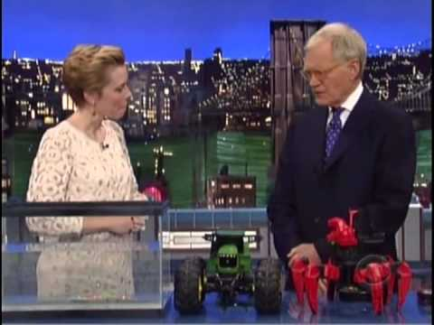 DAVID LETTERMAN REVIEWS THE BEST UNDERWATER TOY: ROBOFISH