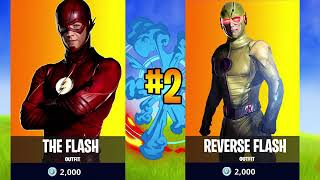 """How to get """"The flash and reverse flash skin"""" for free in fortnite Battle Royale"""