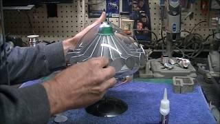 U.F.O. TV Series Alien Flying Saucer Build Finale