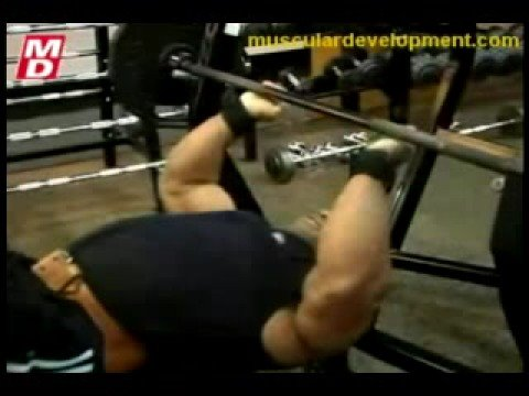 Victor Martinez Arms Workout Video