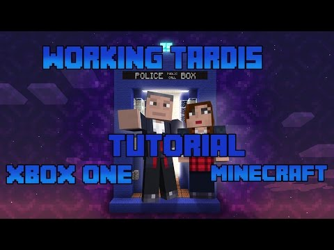 How to make a working doctor who tardis in minecraft