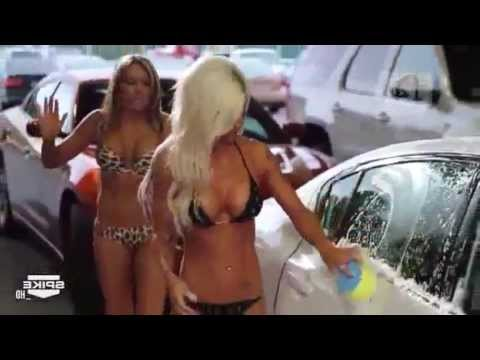 TNA IMPACT WRESTLING - HOT CAR WASH with the SEXY KNOCKOUTS