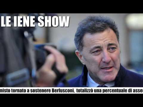 LE IENE SHOW : Luca Barbareschi furioso con Filippo Roma – News