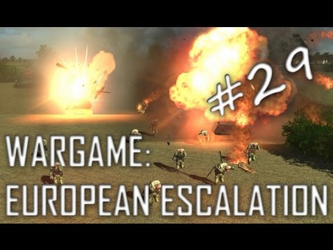 Wargame: European Escalation Gameplay #29 Crushing The Rush (Dual Field, 2v2)