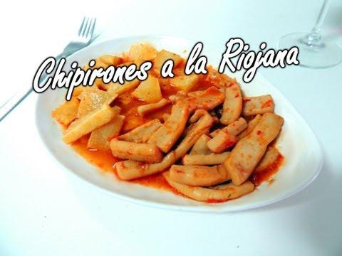 Fácil Recetas - Calamares a la Riojana