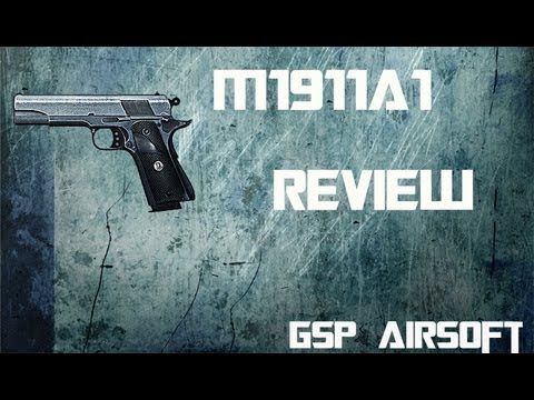 M1911 Softair Review [GsP Airsoft] [HD] GERMAN