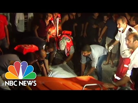 Israeli Airstrike Hits Residential Building in Gaza | NBC News
