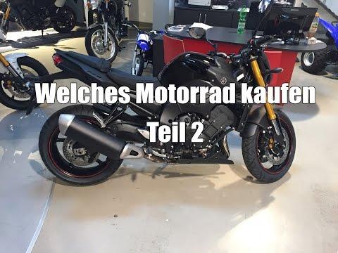 Welches Motorrad kaufen? Motorrad Shopping Yamaha MT07 FZ8 oder Suzuki GSR 750