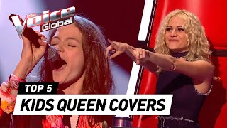 AMAZING QUEEN covers in The Voice Kids