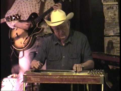 HERB REMINGTON Remington Ride w/ Eddie Rivers TWIN PEDAL STEEL GUITAR 10/13/09 Austin, Texas
