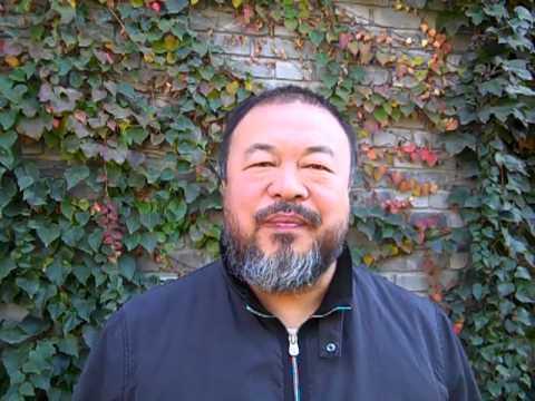 Grußwort von Ai Weiwei