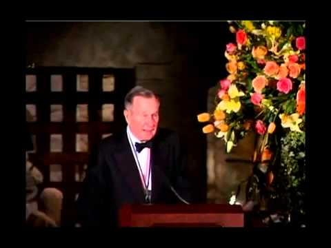 President George H. W. Bush at the 2005 History Making Texan Awards
