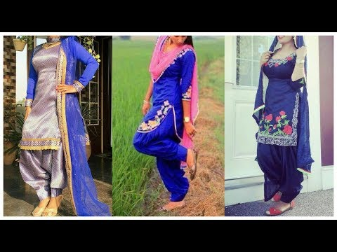 Beautiful Punjabi Salwar Suits Designs || Latest Patayala Salwar suit Designs idea by Thakur Fashion