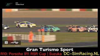 Gran Turismo Sport - Porsche 911 RSR Cup - Suzuka Circuit - DC-SimRacing.NL - LIVE