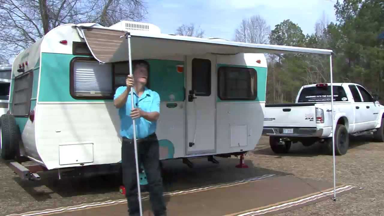 Trim Line Patio Awning For Pop Ups By Dometic Youtube