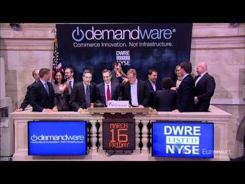 Demandware® Celebrates IPO rings the NYSE Opening Bell