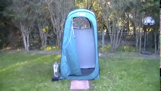 BEST CAMPSITE IDEAS FOR CAMPERS - PORTABLE SHOWER 12volt