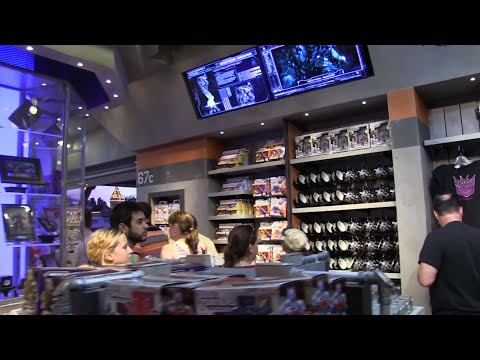 Transformers: The Ride - 3D Detailed queue walkthrough at Universal Studios Florida