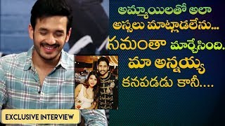 Akhil Akkineni on flirting, being single, marriage, how Samantha changed Naga Chaitanya & more
