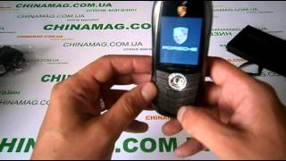 Видеообзор телефона Porsche Cayman S