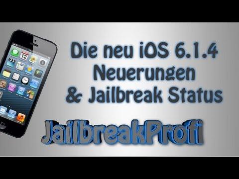 Die neue iOS 6.1.4 - Neuerungen & Jailbreak Status