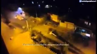 Polise Molotof Atan Terorist - Video Çeken Ailenin Sevinci
